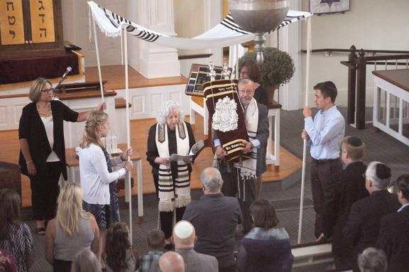 Torah Under Chupah